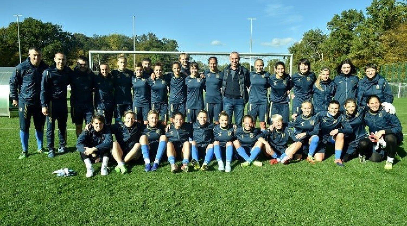 Олег Протасов відвідав збір жіночої національної команди України