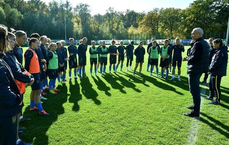 Олег Протасов відвідав збір жіночої національної команди України - изображение 2