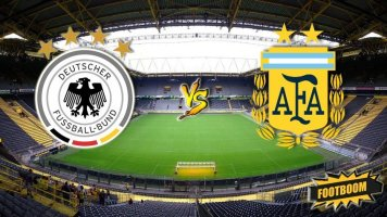 Товарищеский матч. Германия - Аргентина 2:2 (Видео)