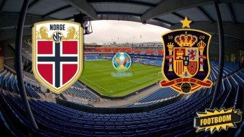 Отбор к Евро-2020. Норвегия - Испания 1:1 (Видео)
