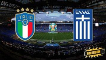 Отбор к Евро-2020. Италия - Греция 2:0 (Видео)
