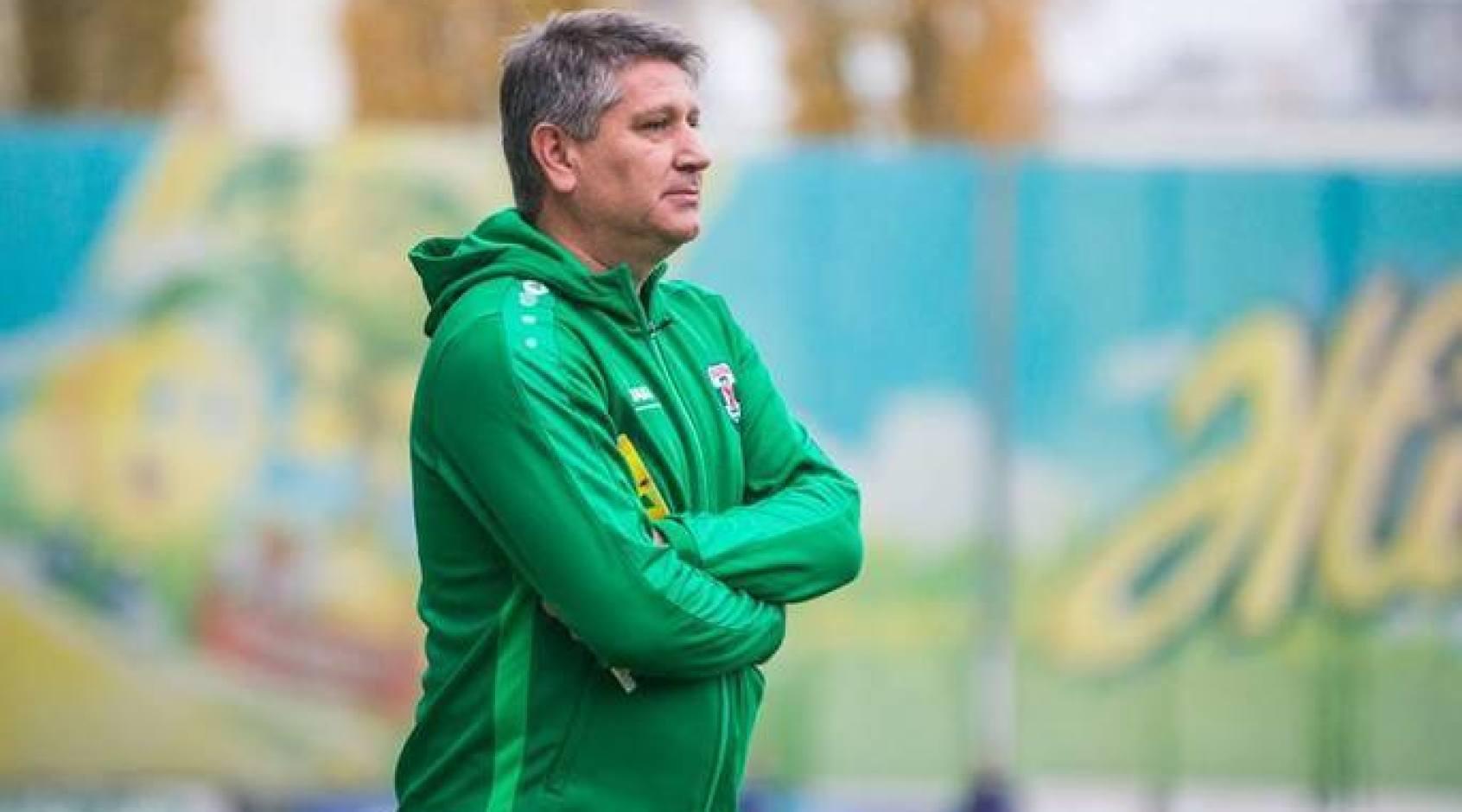 Сергій Ковалець - найкращий тренер 14 туру Першої ліги