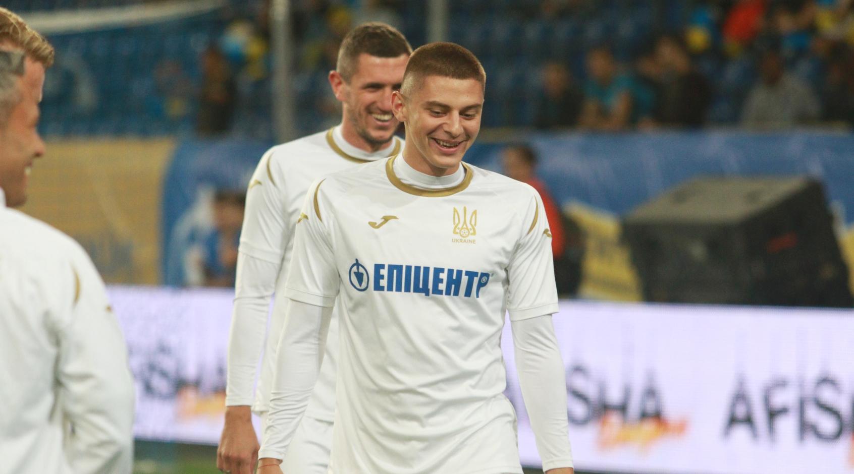 Виталий Миколенко - лучший молодой игрок Украины в 2019 году