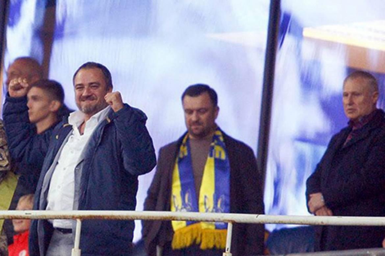 Реакция Андрея Павелко и Григория Суркиса на победу сборной Украины (Фото) - изображение 1
