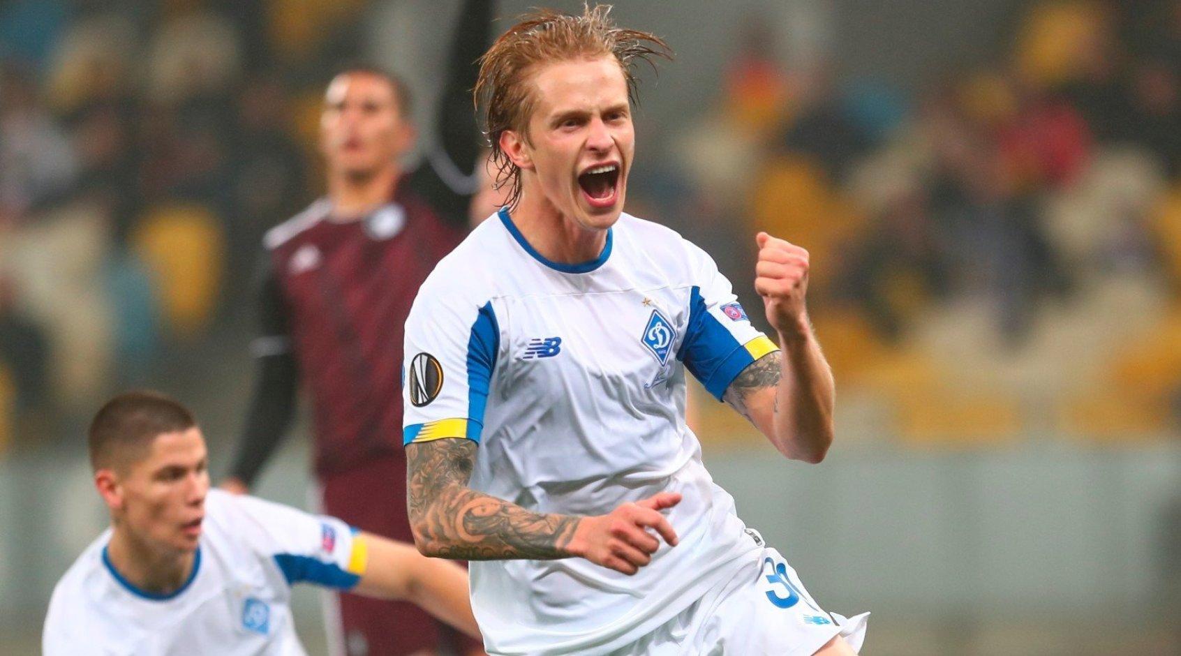 Пять украинцев попали в топ-100 футболистов Лиги Европы по рейтингу FedEx Performance Zone