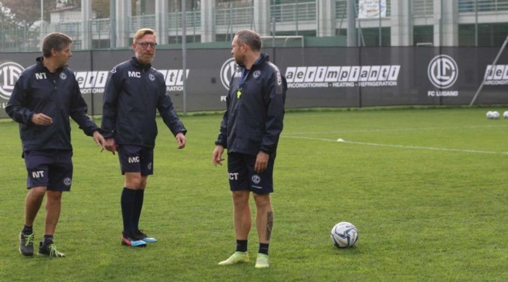 """У """"Лугано"""", который является соперником """"Динамо"""" в Лиге Европы, сменился тренер"""