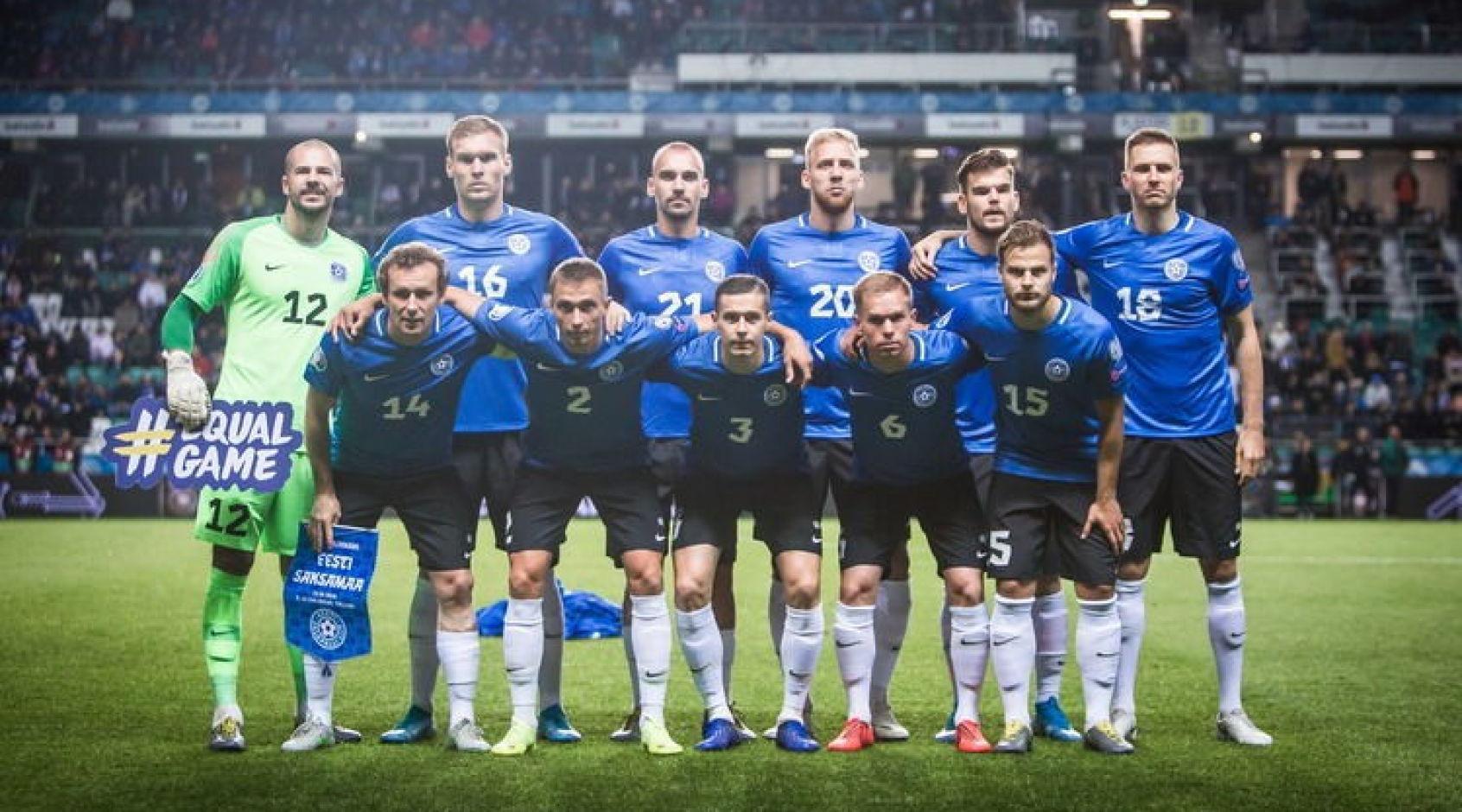 Збірна Естонії оголосила склад на поєдинки з Україною та Нідерландами