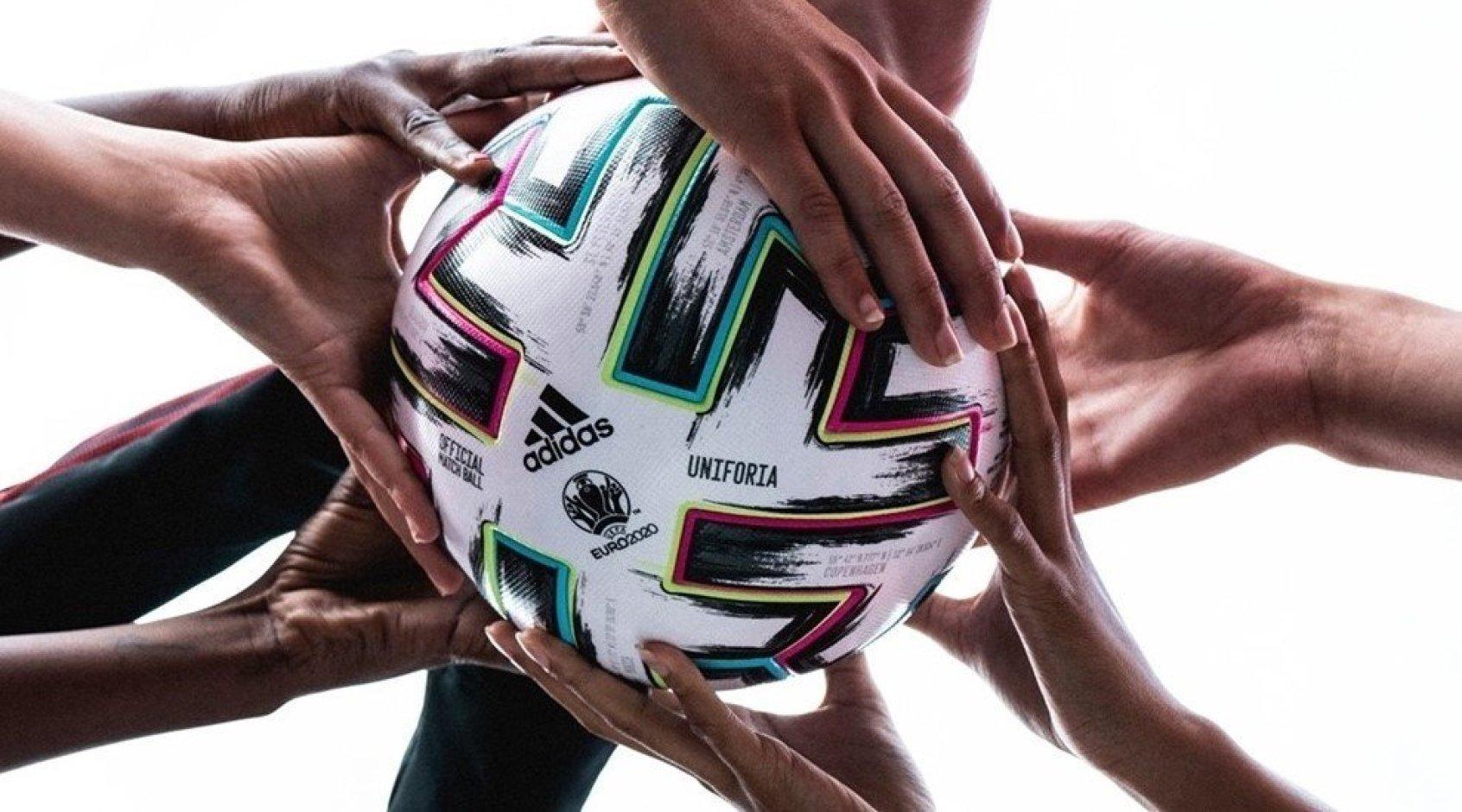 Аdidas представил Uniforia - официальный мяч ЕВРО-2020