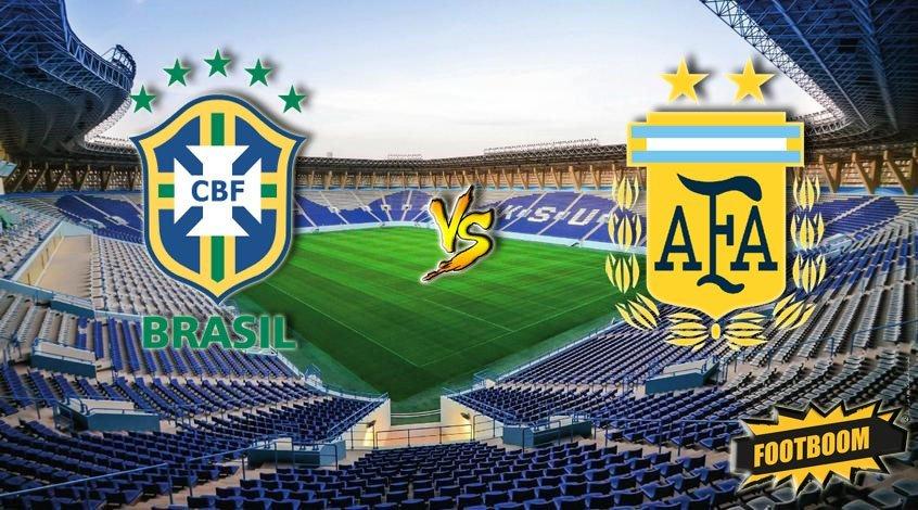 Бразилия - Аргентина: ставим на низкую результативность