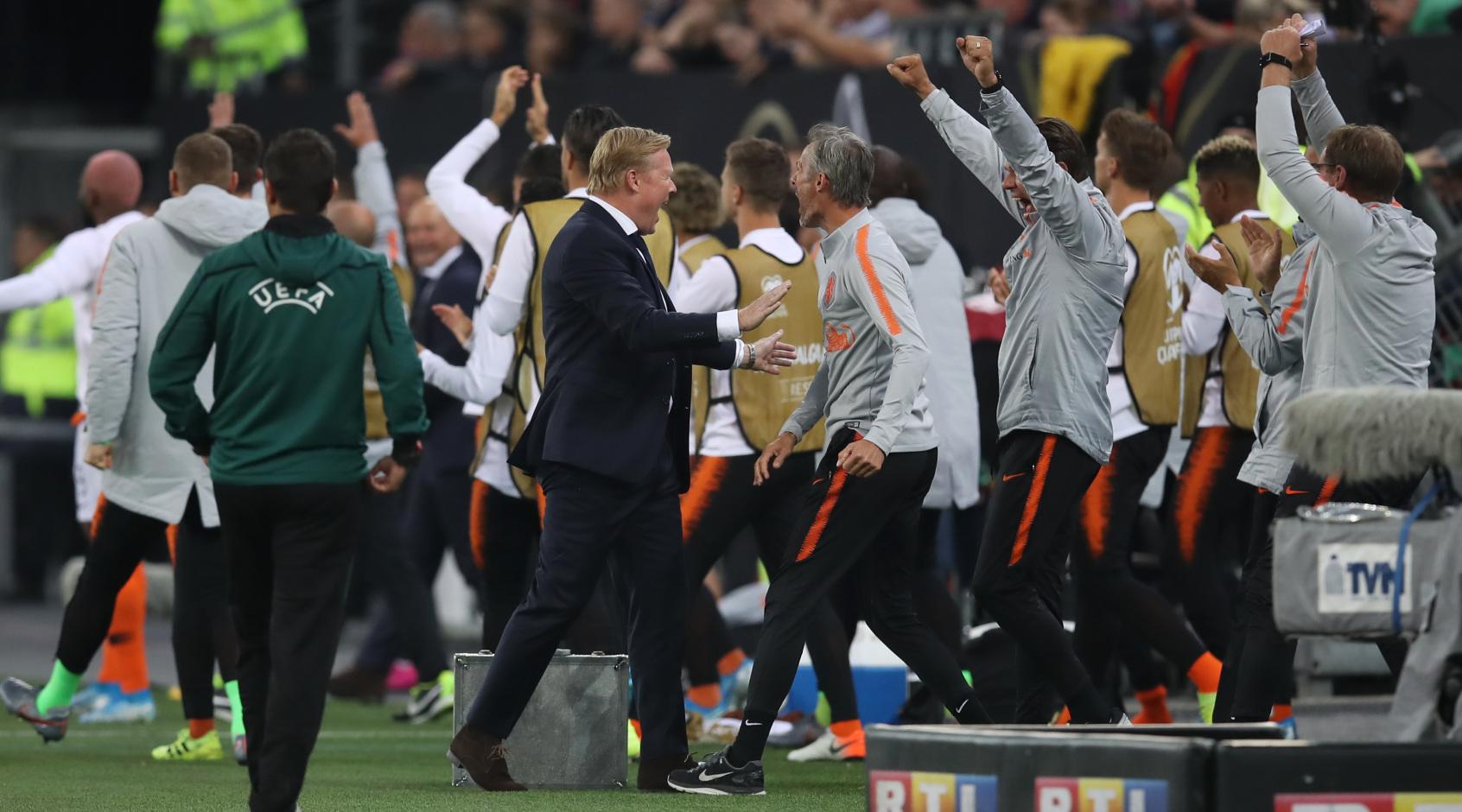 """Рональд Куман: """"Я счастлив, что Голландия вышла на Евро-2020"""""""
