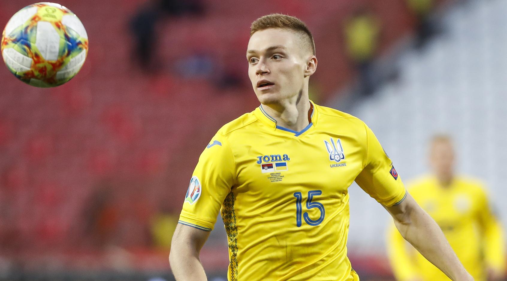 InStat назвал Цыганкова лучшим в матче Сербия - Украина, худший - Матвиенко