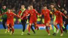 """Гарет Бэйл праздновал выход Уэльса на Евро-2020 с флагом """"Уэльс, гольф, Мадрид"""""""