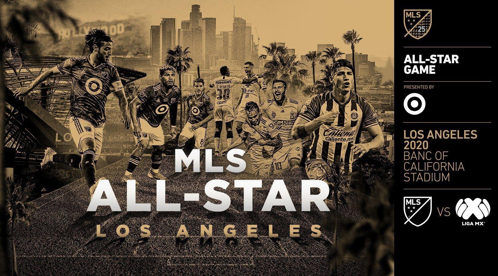 MLS All Stars: звезды Лиги в 2020-м году будут противостоять лучшим игрокам чемпионата Мексики
