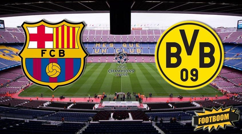 Барселона боруссия дортмунд история встреч
