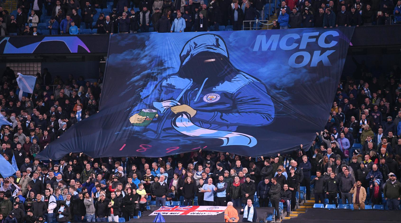 """""""Манчестер Сити"""" оштрафовали на 3000 евро на нарушение к требованиям рекламы"""
