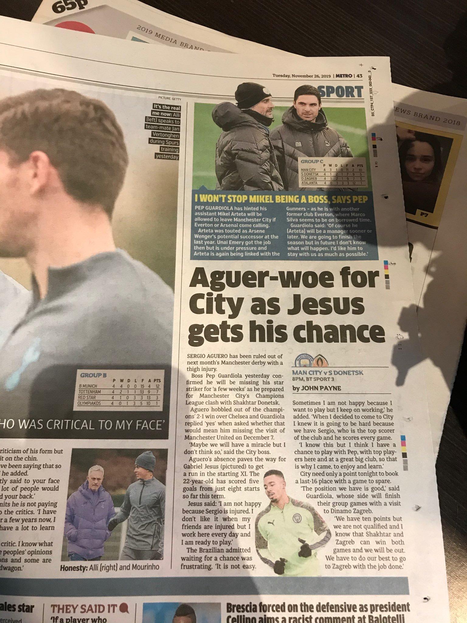 """В тени у """"особенного"""": матч """"Манчестер Сити"""" - """"Шахтер"""" английская пресса почти не заметила (+ Фото) - изображение 2"""
