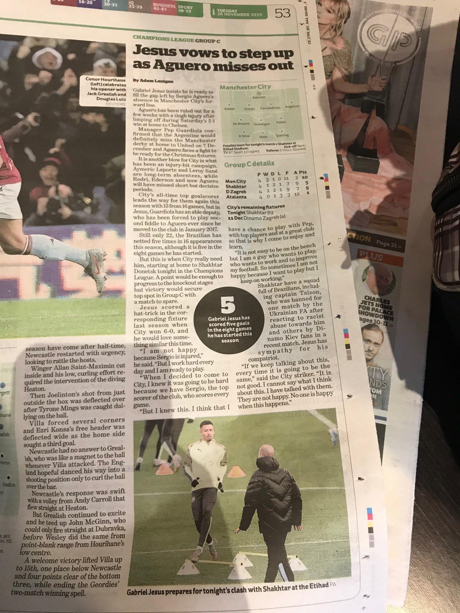 """В тени у """"особенного"""": матч """"Манчестер Сити"""" - """"Шахтер"""" английская пресса почти не заметила (+ Фото) - изображение 4"""