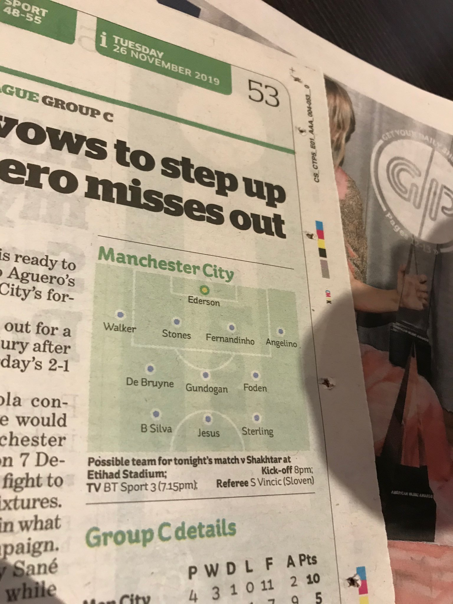 """В тени у """"особенного"""": матч """"Манчестер Сити"""" - """"Шахтер"""" английская пресса почти не заметила (+ Фото) - изображение 5"""