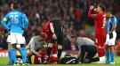 """Хавбек """"Ливерпуля"""" Фабиньо может пропустить больше месяца из-за травмы"""