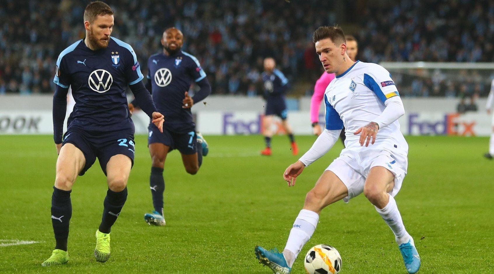 Виктор Цыганков и Беньямин Вербич включены в символическую сборную 5-го тура Лиги Европы