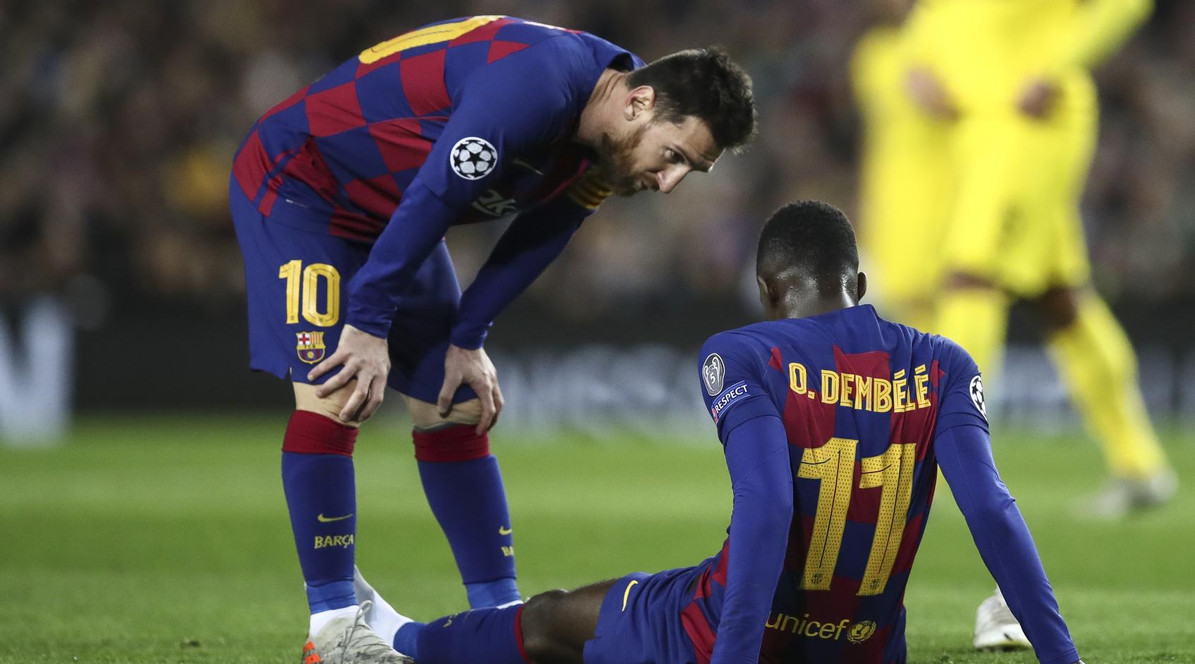 """""""Барселона"""" срочно отправила в Ла Лигу отчет об операции Усмана Дембеле"""