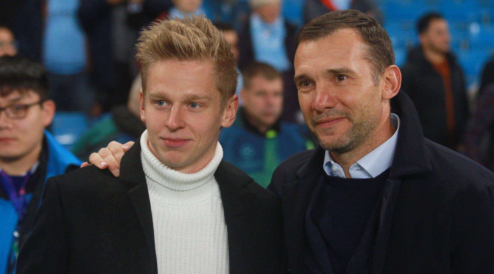 Александр Зинченко - лучший игрок года, выступающий за границей