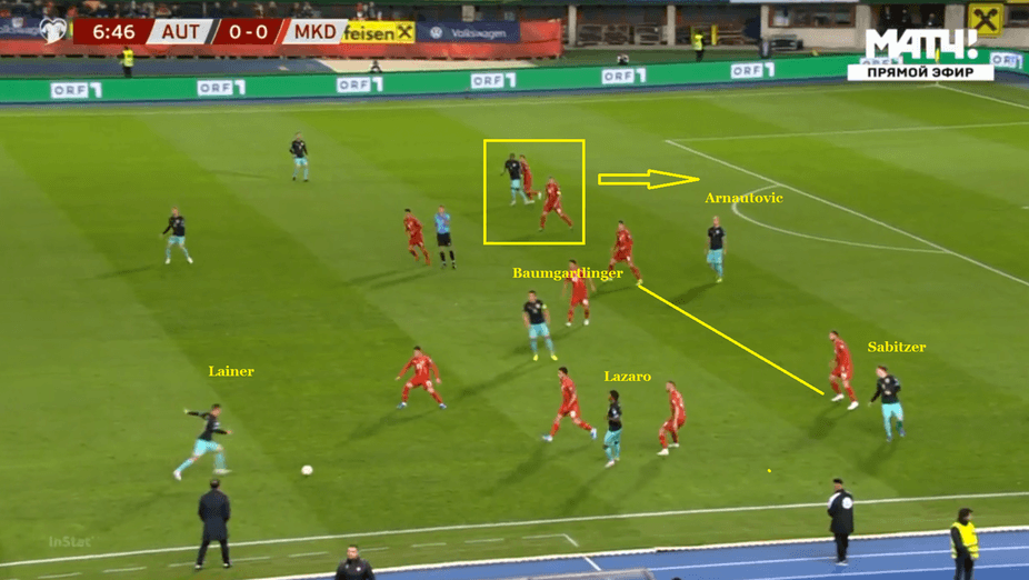 Тактический анализ игры сборной Австрии от голландского журналиста - изображение 3