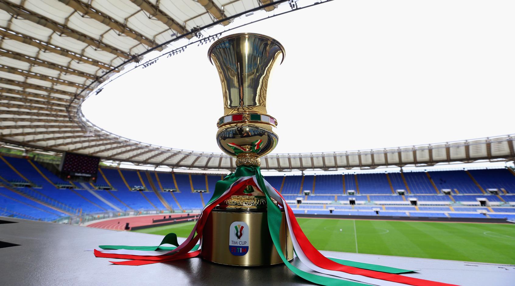 Кубок Италии 2020/21: гипотетическое миланское дерби в четвертьфинале (+Фото)