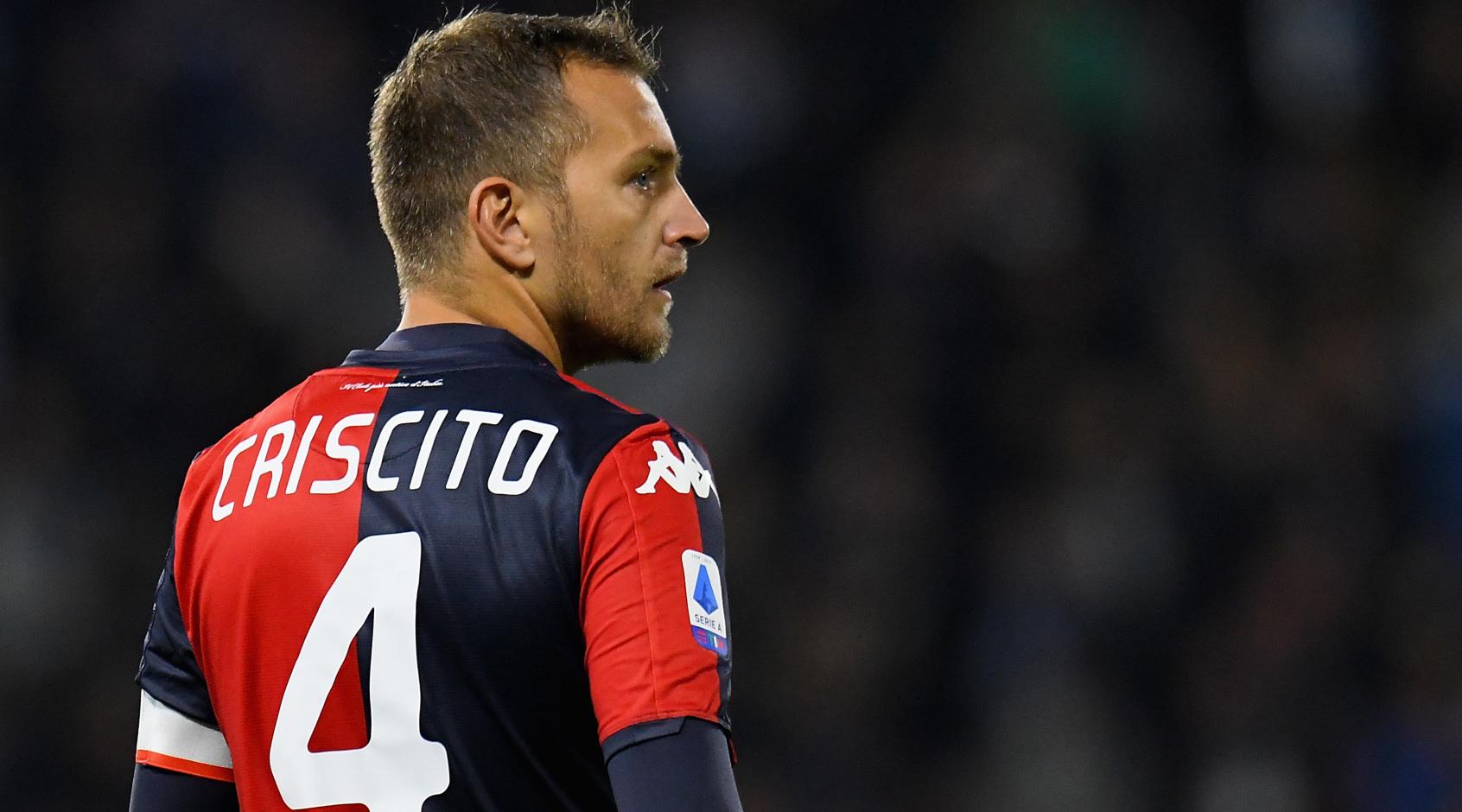 Доменико Кришито покинул расположение сборной Италии из-за повреждения