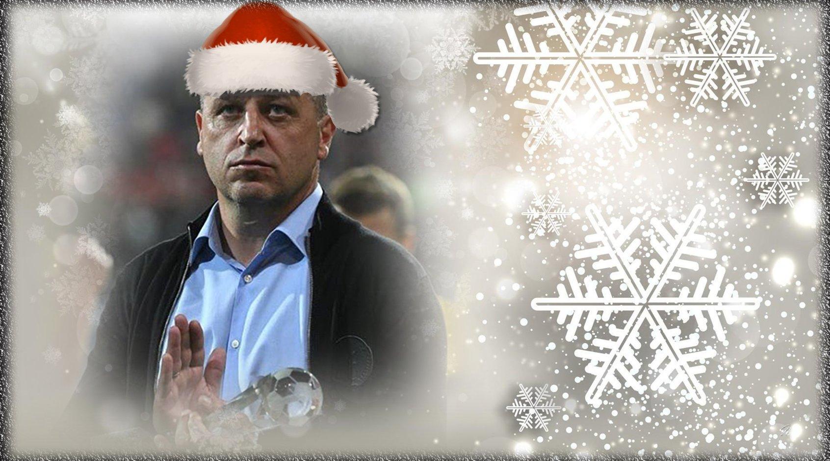 Новогодняя открытка: Юрий Вернидуб