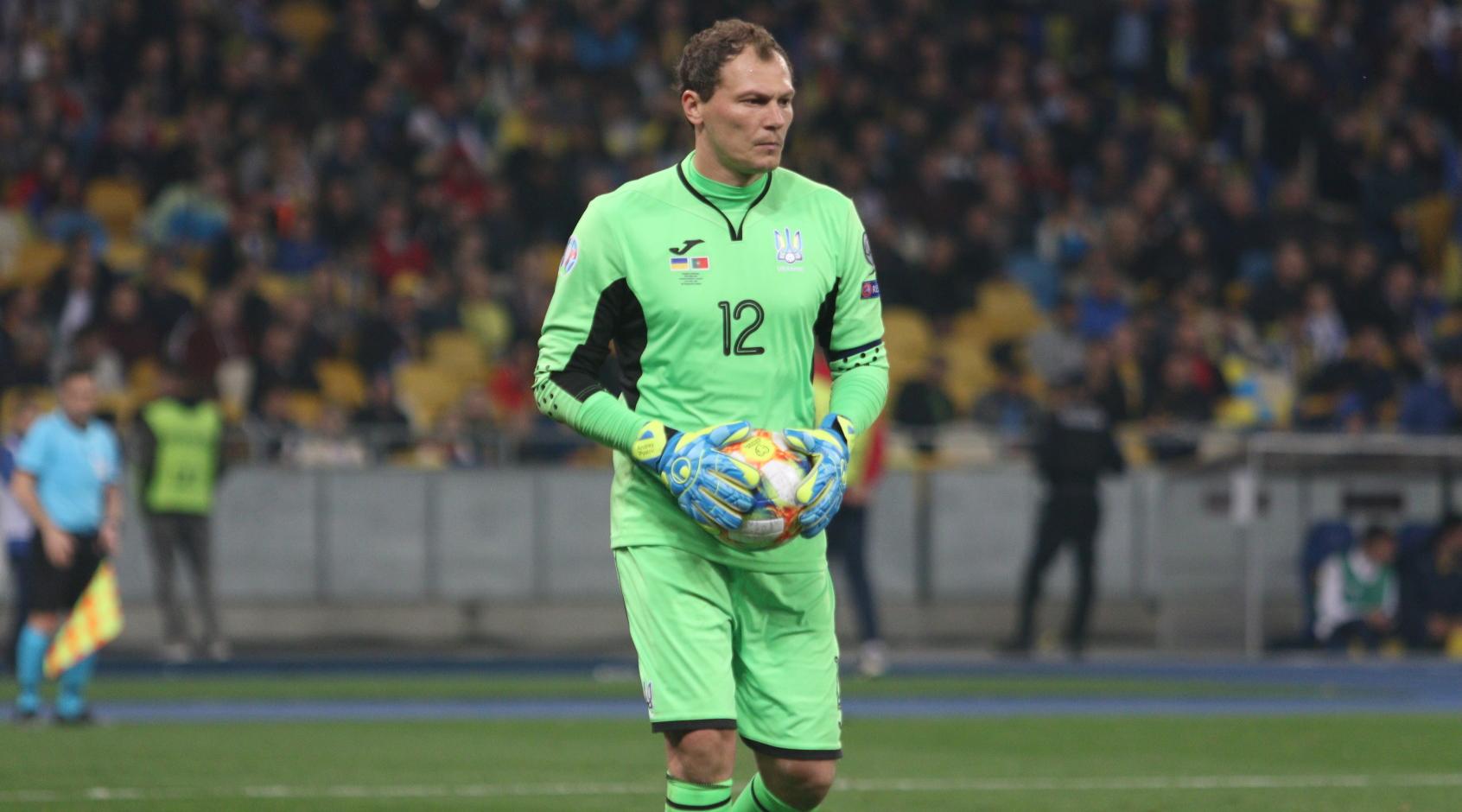 Андрей Пятов - в десятке самых дорогих футболистов мира в возрасте 35 лет и свыше