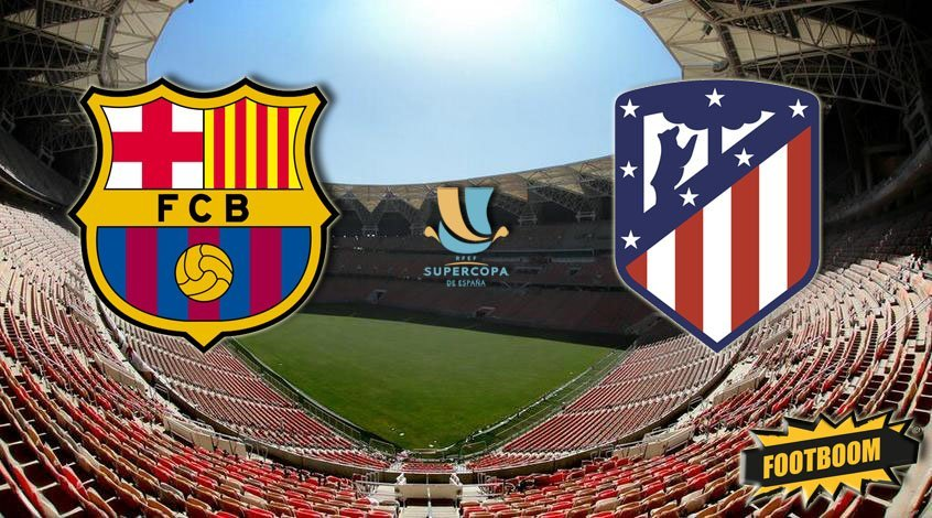 Барселона атлетико мадрид 5 4 кубок испании