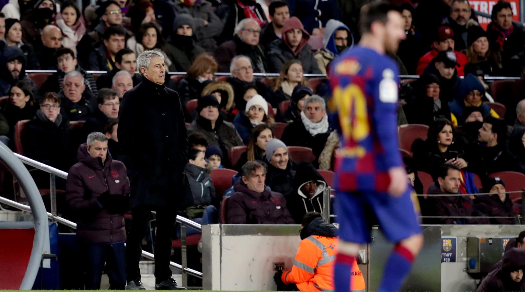 """Дебют Сетьена в """"Барселоне"""": схема с тремя центрбеками, свобода Месси и великолепный Бускетс"""
