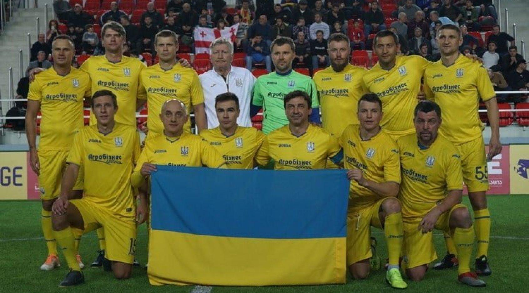 Збірна України серед ветеранів перемогла в четвертому Кубку легенд в Батумі