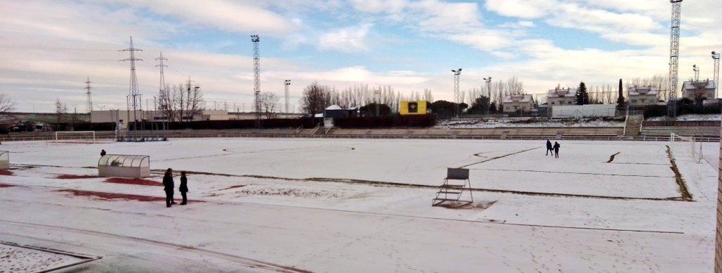 """Фото дня: в Саламанке выпал снег накануне матча """"Унионистас"""" - """"Реал"""" - изображение 2"""