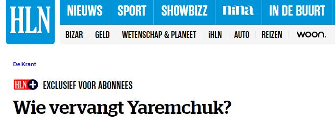 """Бельгийские СМИ - о травме Яремчука: """"Два месяца без Романа - серьезная проблема для """"Гента"""" - изображение 4"""