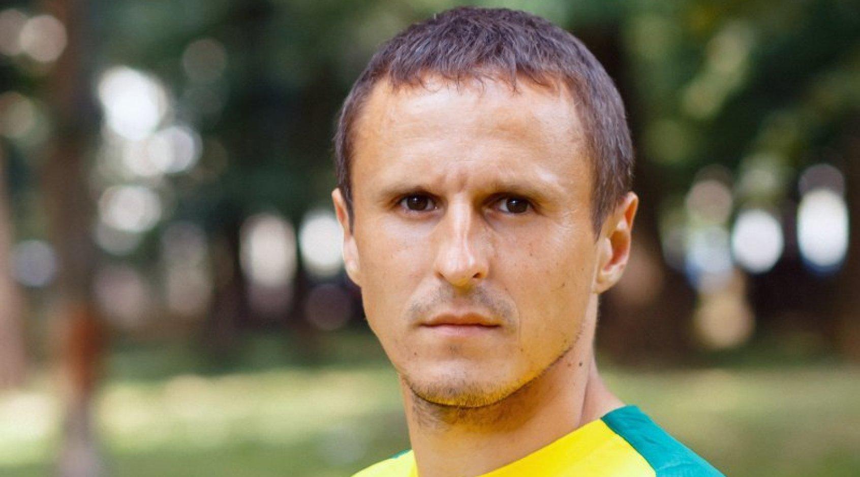 """Віктор Данищук став граючим тренером """"Прикарпаття-Тепловика"""""""