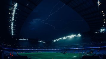 Ураган против футбола: в Европе массово отменили матчи в целях безопасности (+Фото)