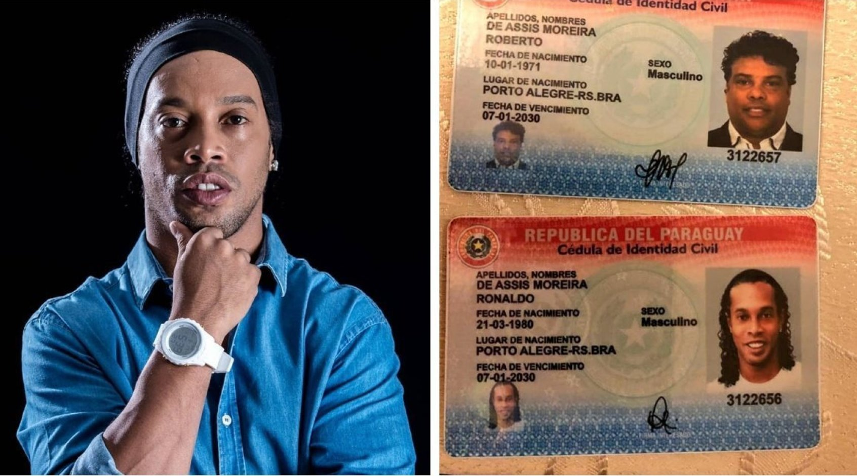 Загадочное дело Роналдиньо: зачем бразильцу нужен поддельный парагвайский паспорт?