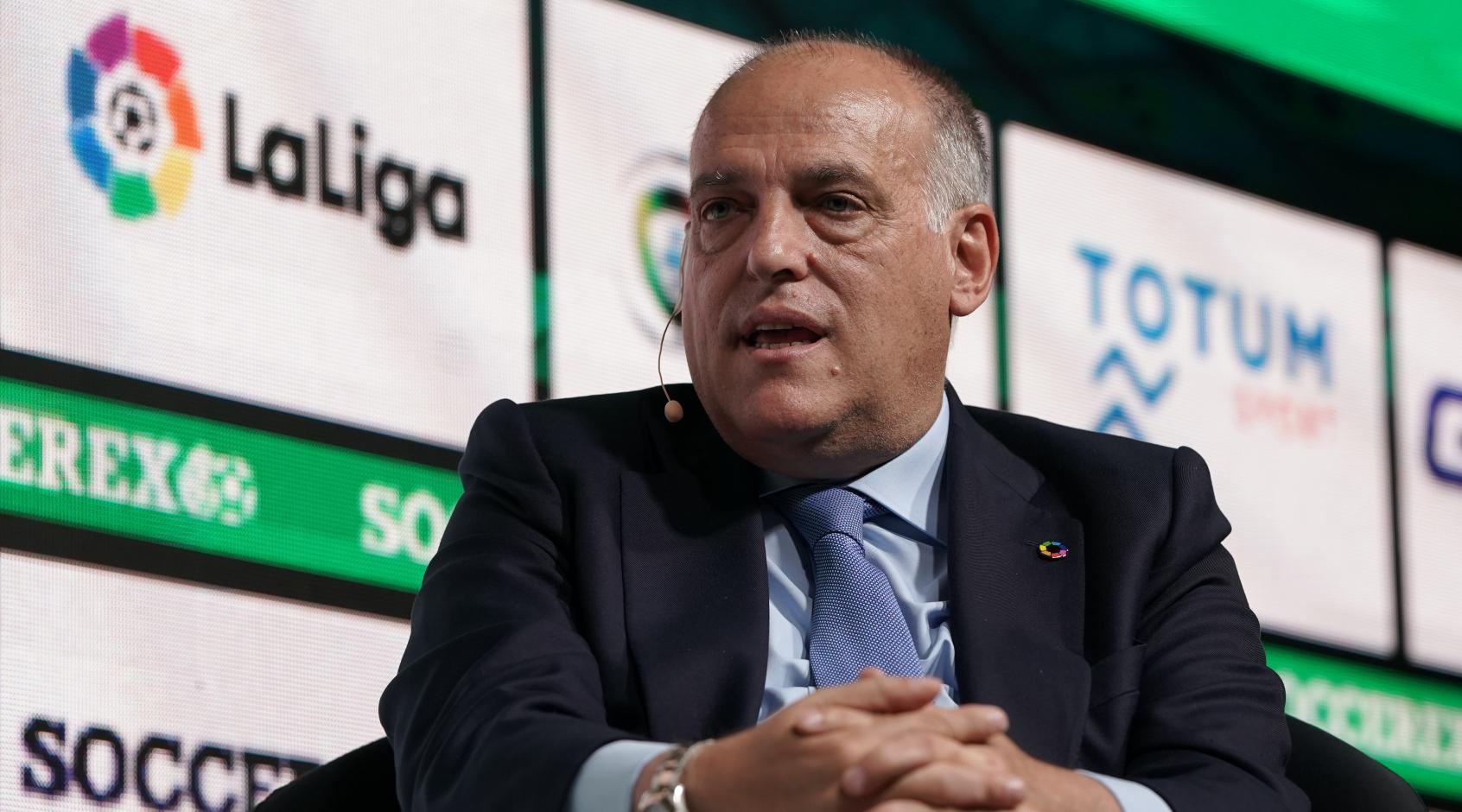"""Президент Примеры Хавьер Тебас: """"Планируется, что все лиги Европы будут возобновлены в середине мая"""""""