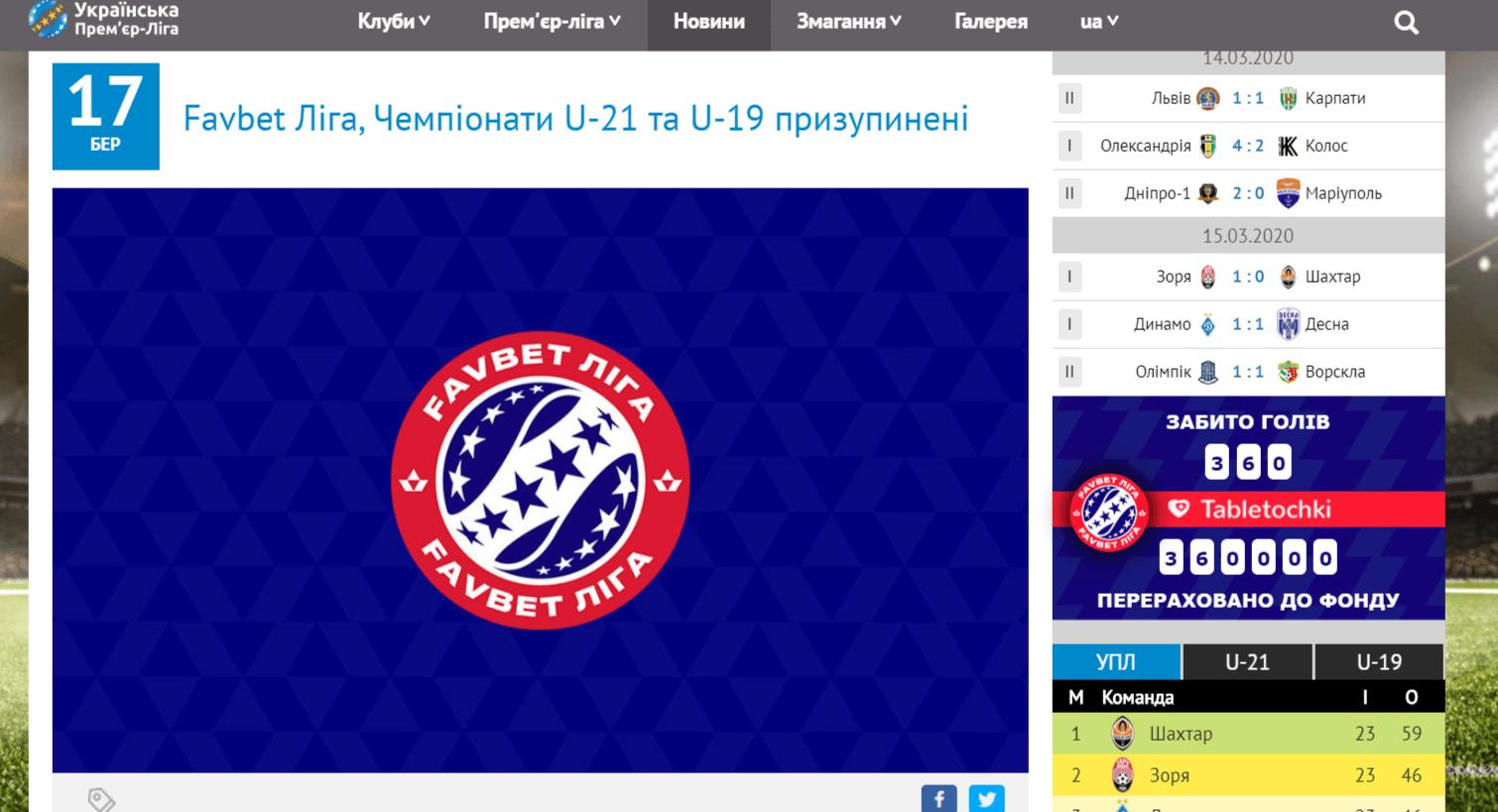 Украинская Премьер-лига на карантине: хроники коронавируса (обновляется) - изображение 17