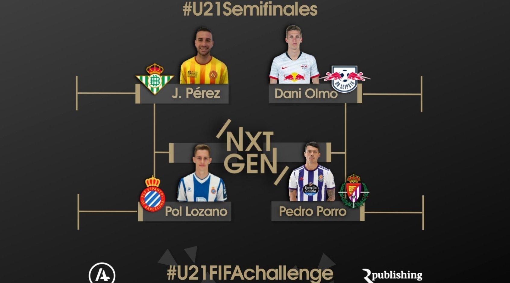 Киберфутбол. FIFA 20. #U21FIFACHALLENGE. Полуфиналы. Прямая трансляция