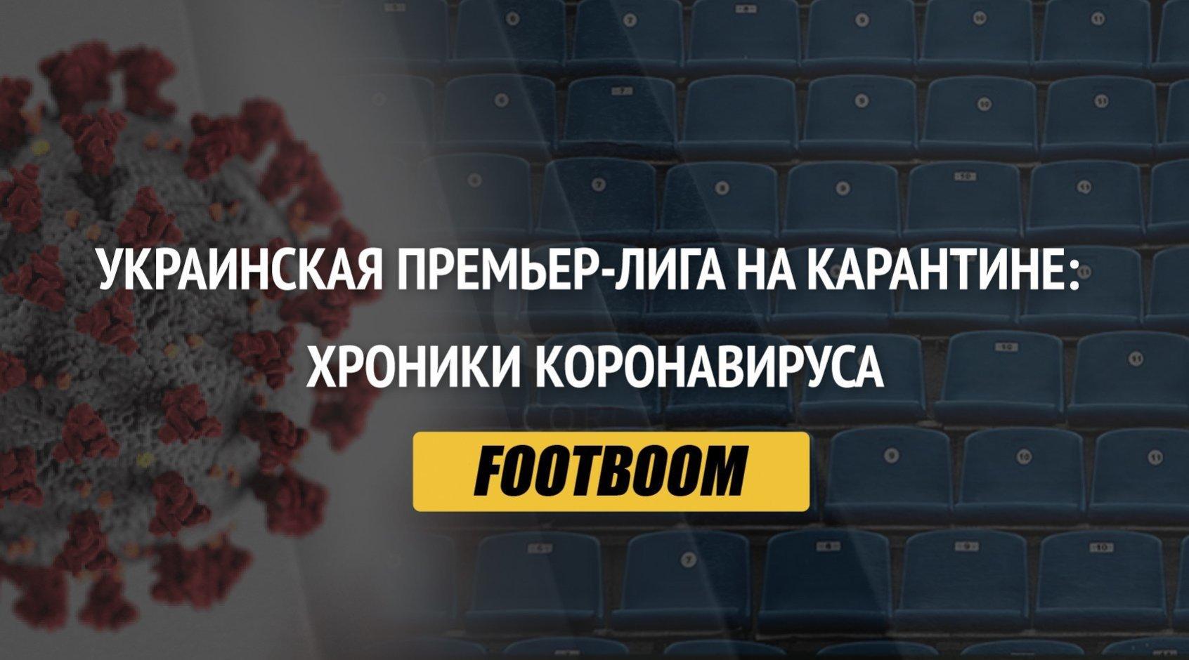 Украинская Премьер-лига на карантине: хроники коронавируса (обновляется)