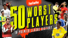 Топ-50 худших игроков в истории английской Премьер-лиги. Часть I: от Фалькао до Корта