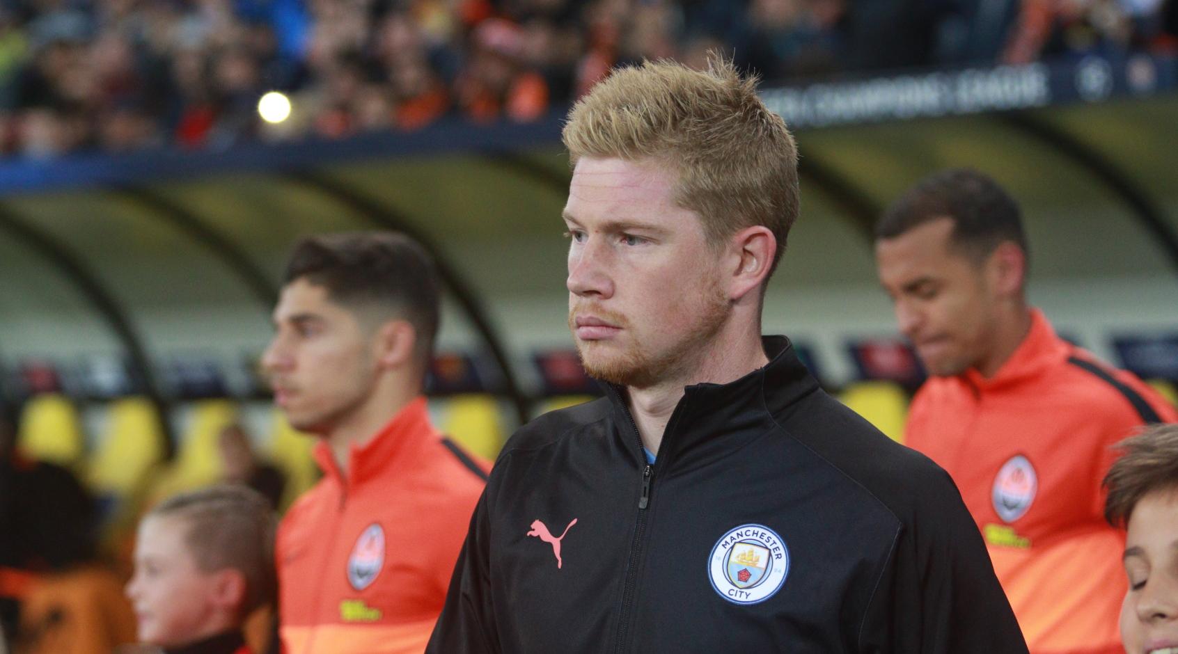"""Де Брюйне планирует остаться в """"Манчестер Сити"""", даже если CAS исключит команду из еврокубков"""
