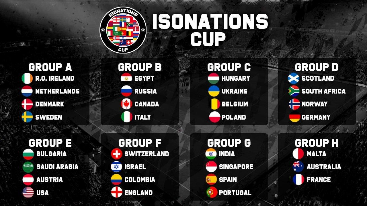 Киберфутбол. IsoNations Cup. Украина сыграет против поляков, венгров и бельгийцев - изображение 1