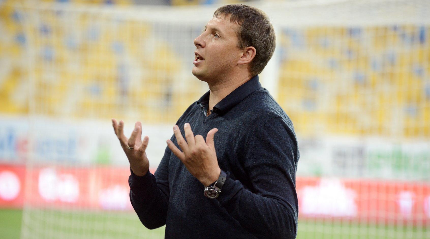 """Андрій Тлумак: """"Хіба буде чесно, якщо ми зіграємо три тури і чемпіонат Першої ліги зупиниться?"""""""