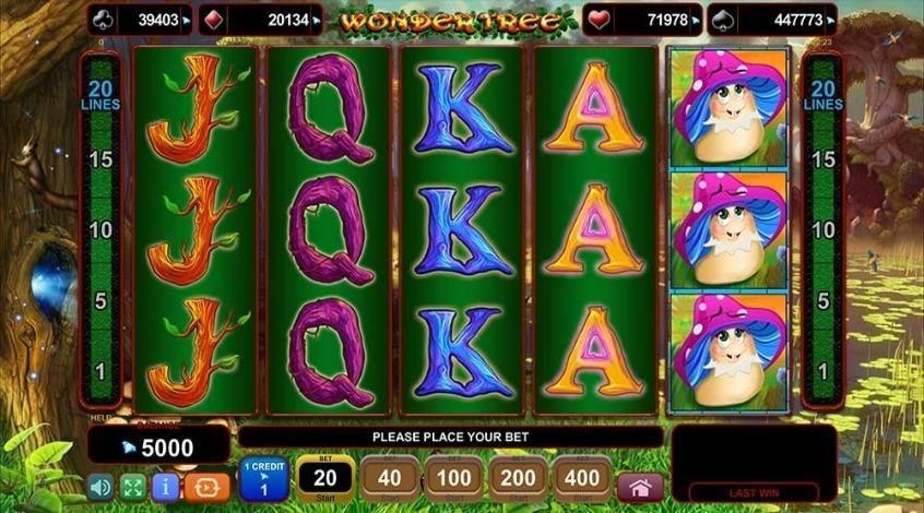 Игровой автомат Wonder Tree