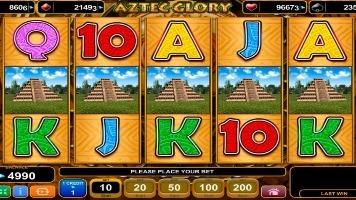 Игровой автомат Aztec Glory