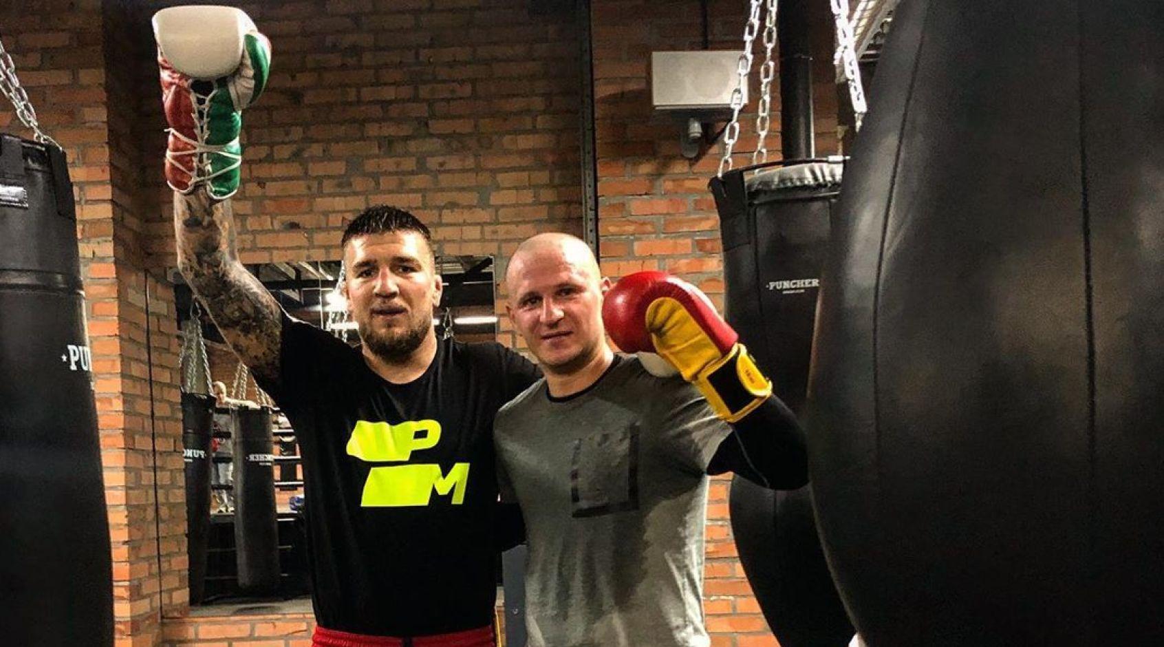 """Сегодня Алиев выйдет на боксерский ринг в проекте """"Битва"""""""